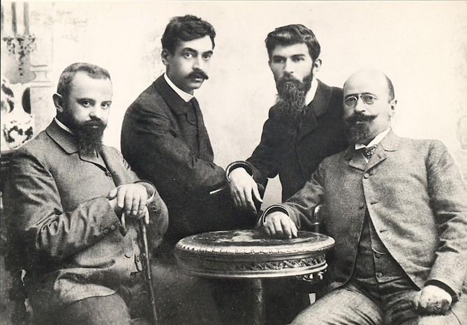 Фотографии на четворки в миналото